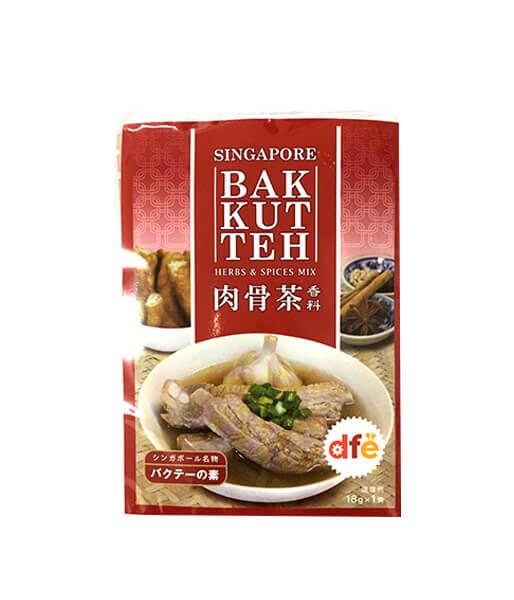 DFE バクテーの素(肉骨茶) (シンガポール) 18g