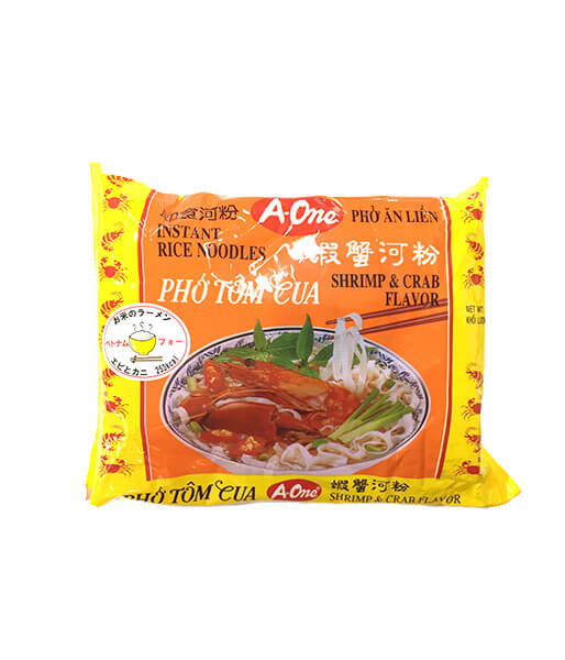 A-One ベトナムのフォー エビとカニ味(65g)