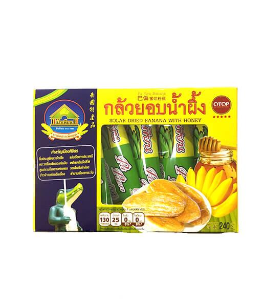 干しバナナの蜂蜜味(お菓子)(6袋x240g)