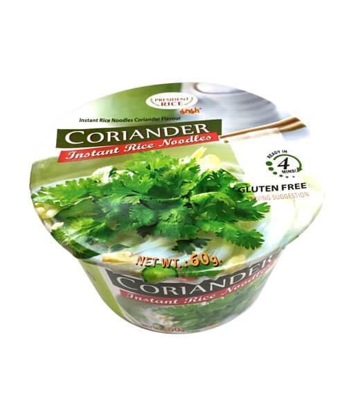 プレジデントライス フォーパウチー(コリアンダー味)(60g)