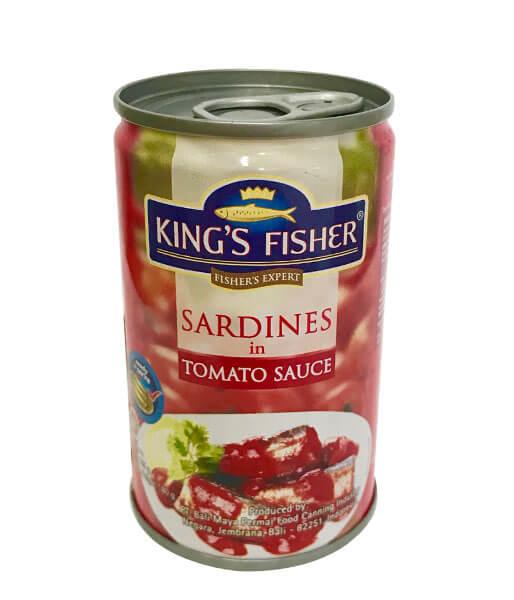 sadines in tomato sauce King's Fisher(80g)