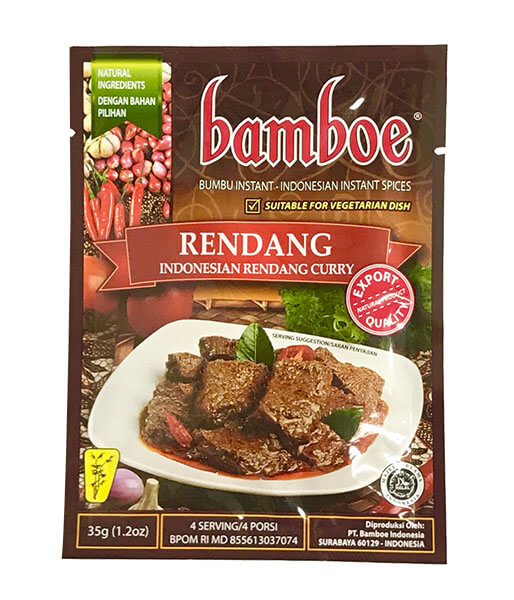 bamboe ドライカレーの素(インドネシア) 35g