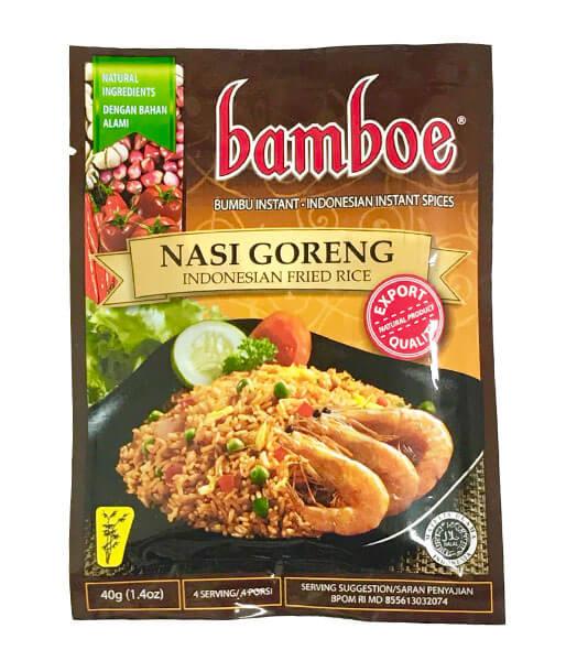 bamboe ナシゴレンペーストの素(インドネシア) 40g