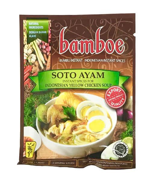 bamboe チキンスープの素(インドネシア) 40g