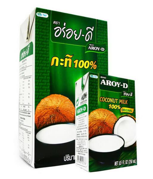 アロイディー ココナッツミルク(紙パック)(小)250ml
