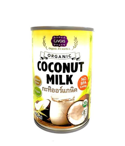 チブギス オーガニックココナッツミルク(400ml)