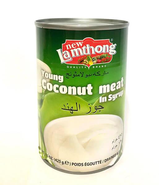 ココナッツ果肉シロップ漬け 425g