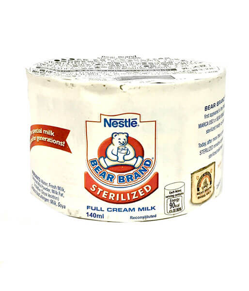 Bear Brand フルークリームミルク(140ml)