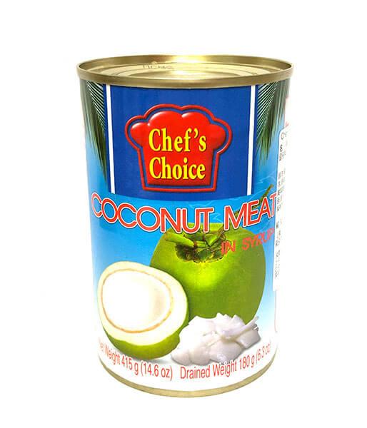 Chef'sChoice ココナッツメートのシロップ漬け (415g)