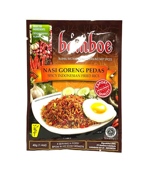 Bamboe インドネシア辛口チャーハンの素 (40g)