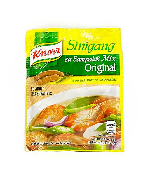 Knorr  シ二ガンパロックスープの素 (タマリンド入り) (44g)