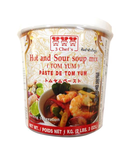 3 Chef's トムヤムペースト 1kg