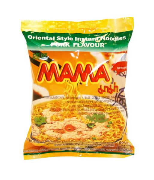 MAMA (マーマー) インスタントラーメン ムーサッブ味(豚ひき肉)