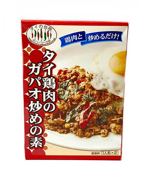 タイの台所 タイ鶏肉のバジル炒めの素(80g)
