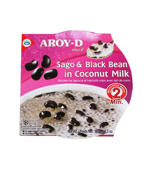 ココナッツミルク入りタピオカ、黒豆のデザート アロイディー(180g)