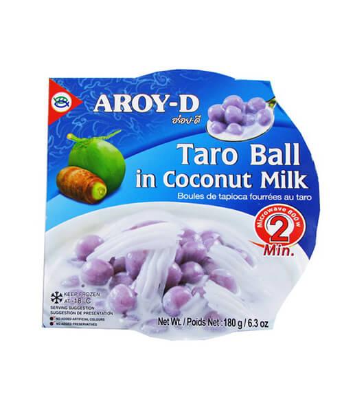 タロイモ団子とココナッツのデザート アロイディー(180g)
