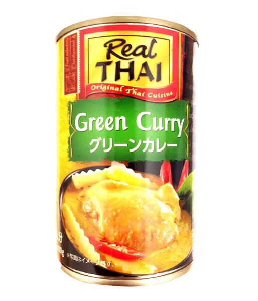 Real Thai グリーンカレースープ (400g)
