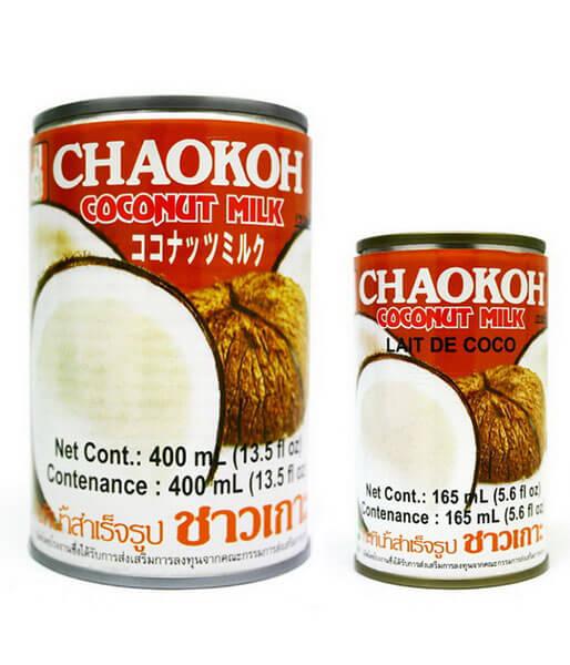 チャオコー ココナッツミルク(カン)(小) 165g