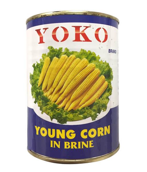 YOKO ヤングコーン水煮  (540g)