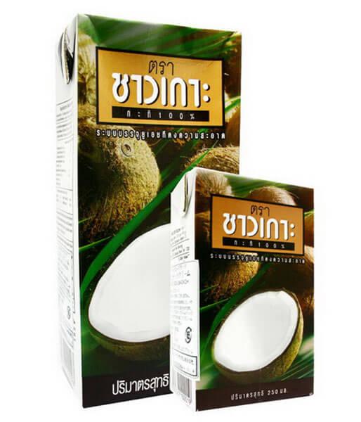 チャオコ ココナッツミルク(紙パック)小 250ml